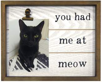 """New View Meow"""" 4"""" x 6"""" Photo Clip Frame"""
