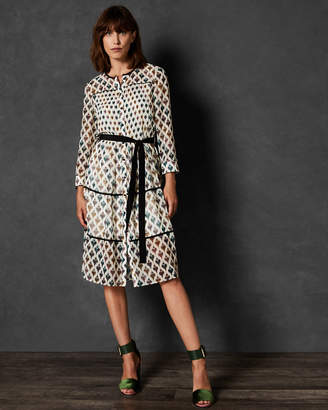 Ted Baker RIA Heart print shirt dress