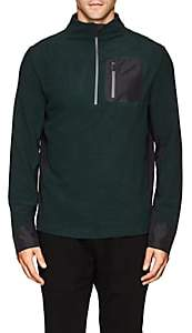 Aztech Mountain AZTECH MOUNTAIN MEN'S JACKPOT MICROFLEECE PULLOVER-GREEN SIZE S
