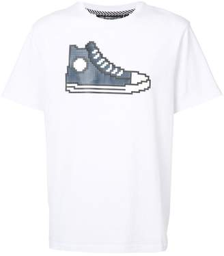 Mostly Heard Rarely Seen 8-Bit Navy Chucks T-shirt
