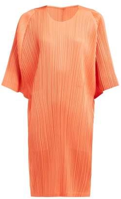 Pleats Please Issey Miyake Plisse Midi Dress - Womens - Coral