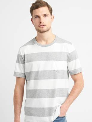Gap Rugby Stripe Pocket T-Shirt
