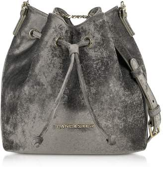 Lancaster Paris Velvet Small Bucket Bag