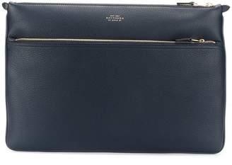 Smythson zipped laptop bag