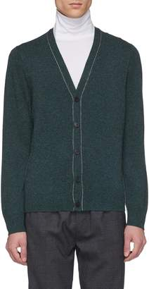 EQUIL Contrast seam cashmere cardigan