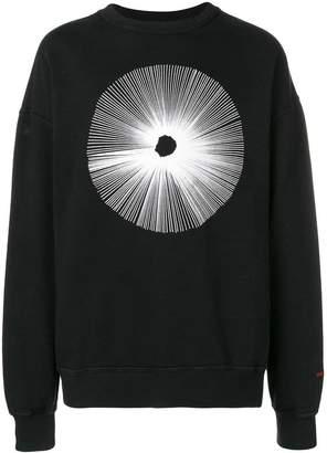 Damir Doma front print sweatshirt