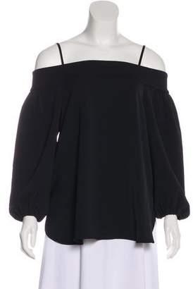 Tibi Off-Shoulder Blouse