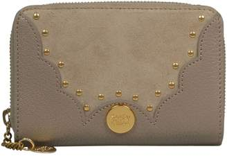 See by Chloe Embellished Zip Around Wallet
