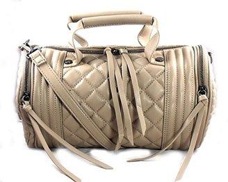 Steve Madden Bpeyton Quilted Barrel Satchel Shoulder Handbag $42.34 thestylecure.com