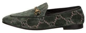 Gucci GG Velvet Loafers