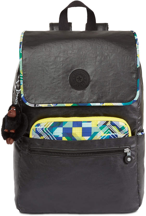 Kipling Aliz Backpack - LACQUER BLACK - STYLE