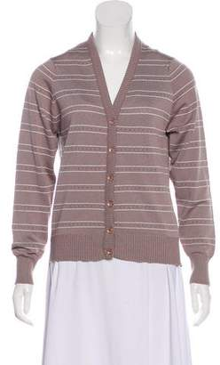 Givenchy Knit Button-Up Cardigan