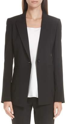 Lafayette 148 New York Charice Stretch Wool Jacket