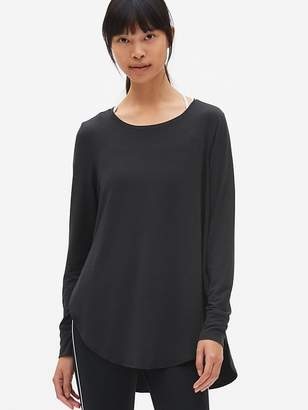 Gap GapFit Breathe Long Sleeve Hi-Lo Tunic