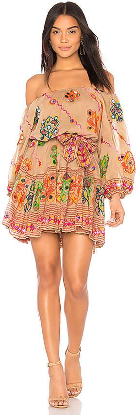 juliet dunn Tribal Boho Dress