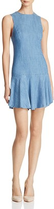 Alice + Olivia Elida Chambray Dress $225 thestylecure.com