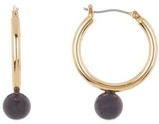 Trina Turk Beads in Bloom 25mm Hoop Earrings