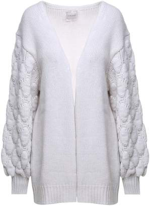 Fine Edge Wool And Cashmere-blend Oversized Cardigan