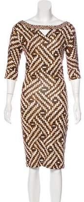 Diane von Furstenberg Ayoka Silk Dress