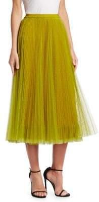 RED Valentino Dot Midi Skirt