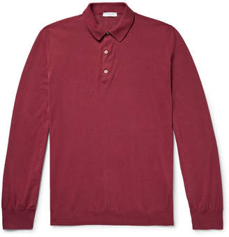 Boglioli Slim-Fit Cotton Polo Shirt