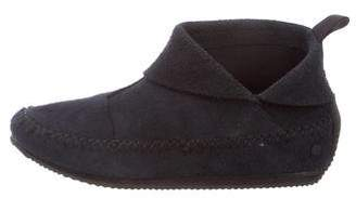 Rag & Bone Suede Moccasin Ankle Boots