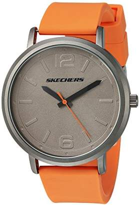 Skechers Men's 'The Ardmore' Quartz Metal and Silicone Casual Watch