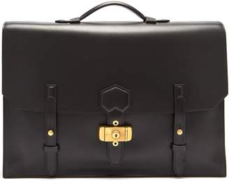 Dunhill Duke Flap leather briefcase