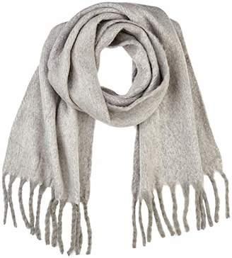 Vero Moda Women's Vmcarla Long Scarf Noos Medium Grey Melange