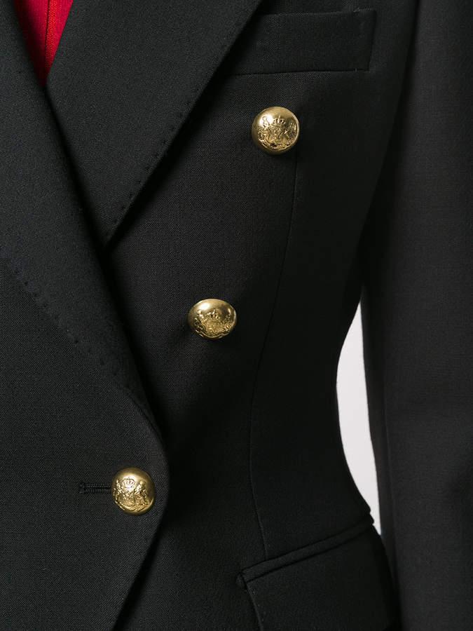 Tagliatore embellished fitted blazer
