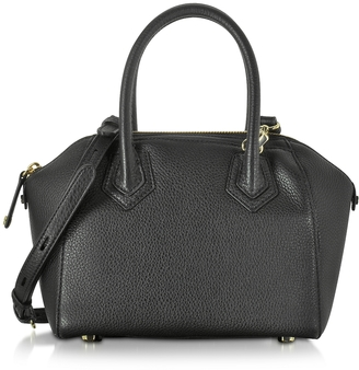 Rebecca Minkoff Genuine Leather Micro Perry Satchel $295 thestylecure.com