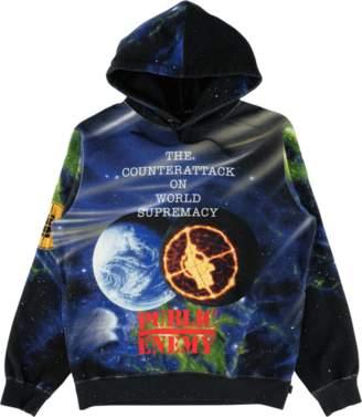 Supreme UDC Public Enemy Hooded Sweats - 'SS 18' - Black