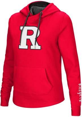Women's Rutgers Scarlet Knights Crossover Hoodie