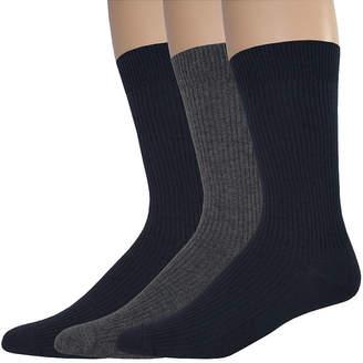 Dockers 3-pk. Rib Crew Socks