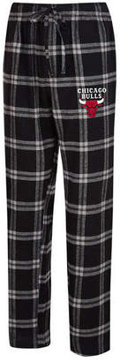 Concepts Sport Men Chicago Bulls Homestretch Flannel Sleep Pants