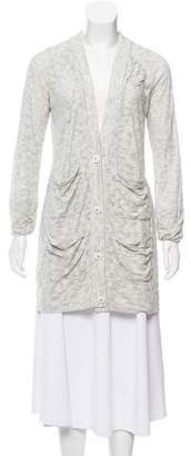 Rebecca Taylor Open Front Knit Cardigan