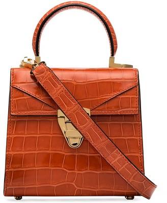 Stalvey crocodile-effect trapezoid tote bag