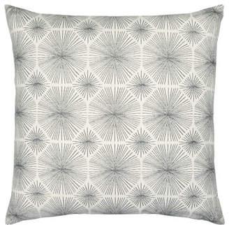 Elaine Smith Radiance Sunbrella Pillow, Smoke