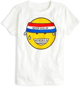 J.Crew crewcuts by Never Give Up Graphic T-Shirt
