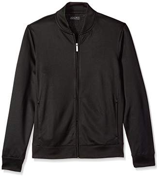 AXIST Men's Long Sleeve Poly Jacquard Bomber Jacket