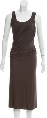 Anna Molinari Jersey Midi Dress