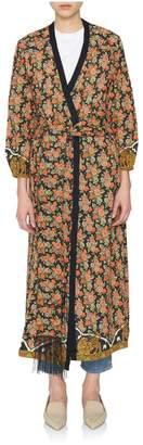 Rhode Resort Lena Floral Wrap Dress
