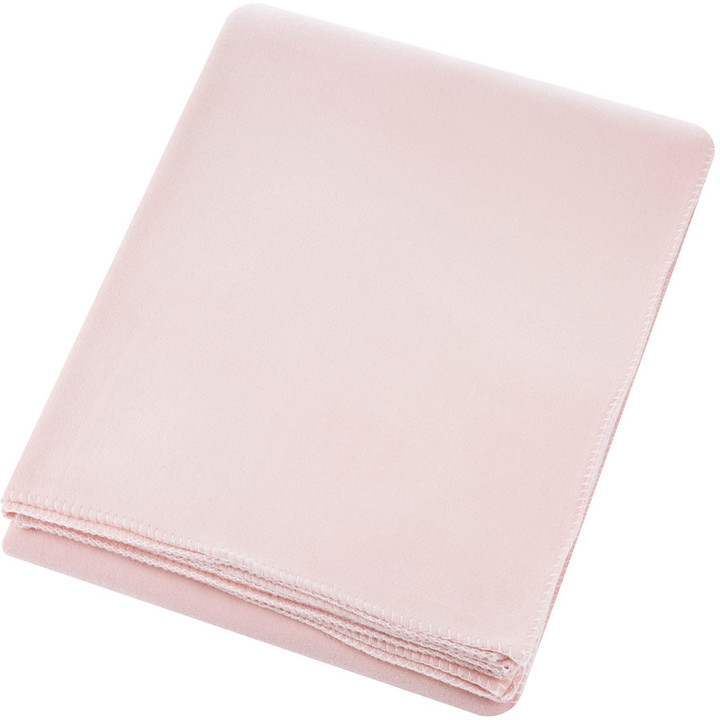 Zoeppritz since 1828 - Large Soft Fleece Blanket - Dark Rose