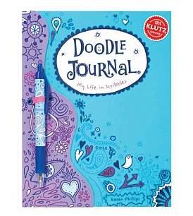 Scholastic Doodle Journal - My Life In Scribbles