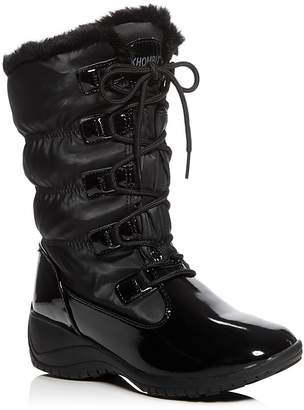 Khombu Ally Waterproof Cold Weather Boots $85 thestylecure.com