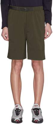 Particle Fever Belted running shorts