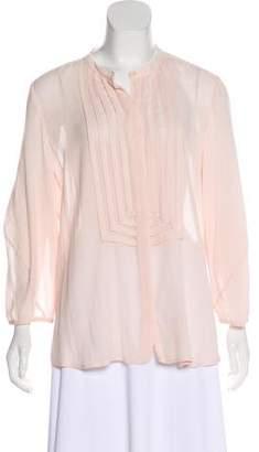 Diane von Furstenberg Hatti Long Sleeve Button-Up