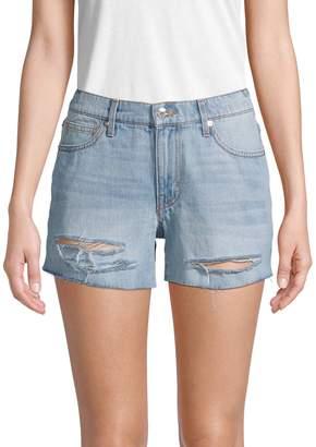 Dtla Distressed Boyfriend Denim Shorts