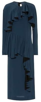 Marni Silk-blend crêpe dress