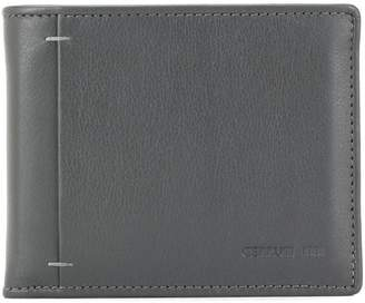Cerruti grey leather wallet